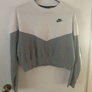 Nike cropped crew neck